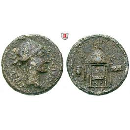 Römische Republik, Q. Cassius Longinus, Denar 55 v.Chr., f.ss