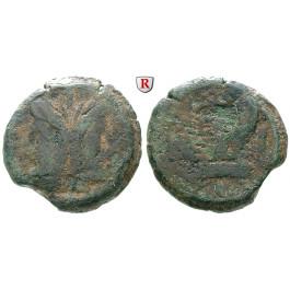Römische Republik, A. Terentius Varro, As 169-158 v.Chr., s+