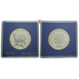 Polen, Volksrepublik, 100 Zlotych 1980, PP
