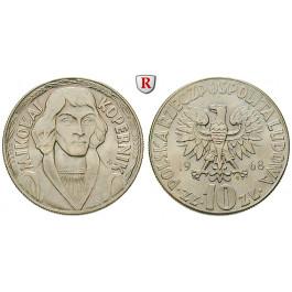 Polen, Volksrepublik, 10 Zlotych 1968, f.st