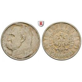 Polen, 2. Republik, 2 Zlote 1934, 3,3 g fein, vz/vz+