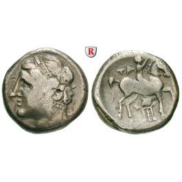 Italien-Kalabrien, Taras (Tarent), Didrachme 281-228 v.Chr., f.ss