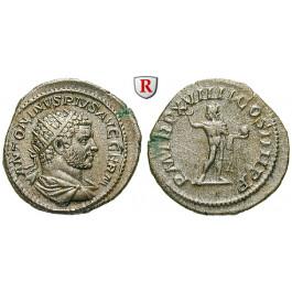 Römische Kaiserzeit, Caracalla, Antoninian 216, f.vz/ss