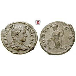 Römische Kaiserzeit, Geta, Caesar, Denar 203-208, ss-vz/ss