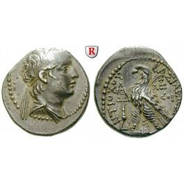 Syrien, Königreich der Seleukiden, Antiochos VII., Didrachme Jahr 176 = 137/6 v.Chr., ss-vz