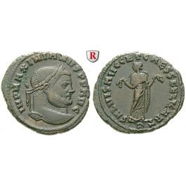 Römische Kaiserzeit, Maximianus Herculius, Follis 298-299, vz