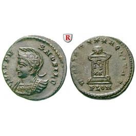 Römische Kaiserzeit, Crispus, Caesar, Follis 323-324, vz