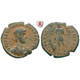Römische Kaiserzeit, Valentinianus II., Bronze 379-383, ss