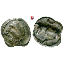 Gallien, Sequani, Potin-Einheit 1.Jh. v.Chr., s/ss