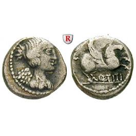 Römische Republik, Q. Titius, Quinar 90 v.Chr., f.ss