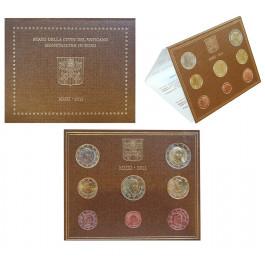 Vatikan, Benedikt XVI., Euro-Kursmünzensatz 2011, st