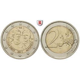 Belgien, Königreich, Albert II., 2 Euro 2011, bfr.