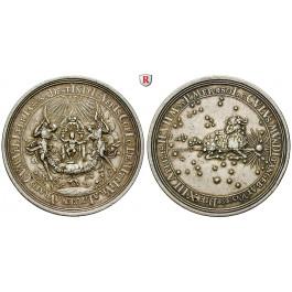 Römisch Deutsches Reich, Karl VI., Silbermedaille 1716, ss+