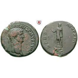 Römische Kaiserzeit, Claudius I., Sesterz 50-54, ss-vz/ss+