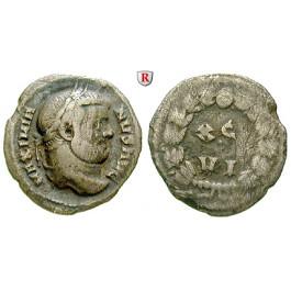 Römische Kaiserzeit, Maximianus Herculius, Argenteus 300, f.ss