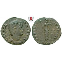 Römische Kaiserzeit, Galeria Valeria, Frau des Galerius, Follis 309-310, ss