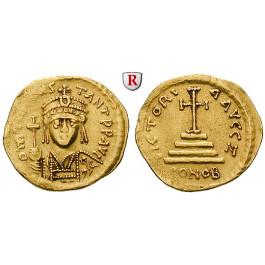 Byzanz, Tiberius II. Constantinus, Solidus 579-582, ss+
