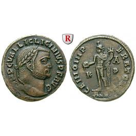 Römische Kaiserzeit, Licinius I., Follis 308-310, vz