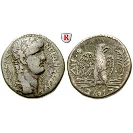 Römische Provinzialprägungen, Seleukis und Pieria, Antiocheia am Orontes, Nero, Tetradrachme Jahr 9= 62-63, f.ss