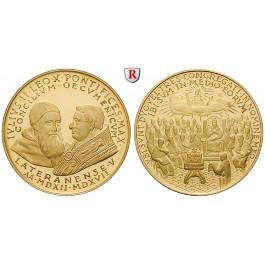 Zeitgeschehen, Goldmedaille o.J. (ca. 1962), 17,07 g fein, PP