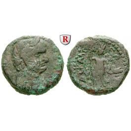 Römische Provinzialprägungen, Judaea, Askalon, Domitianus, Bronze 84-85, s+