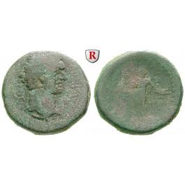 Römische Provinzialprägungen, Judaea, Askalon, Domitianus, Bronze 87-88, s+