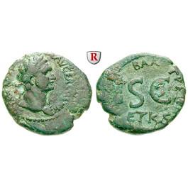 Römische Provinzialprägungen, Judaea, Caesarea Panias, Domitianus, Bronze 85-86, ss