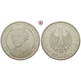 Bundesrepublik Deutschland, 10 Euro 2012, Friedrich der Große, A, bfr.