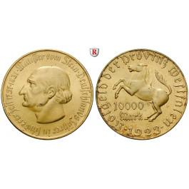 Nebengebiete, Westfalen, 10000 Mark 1923, vom Stein, vz-st, J. N20a