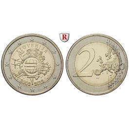 Slowenien, 2 Euro 2012, bfr.