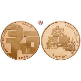 Israel, 100 Lirot 1969, 20,0 g fein, PP