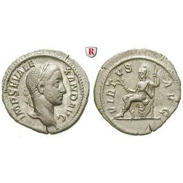 Römische Kaiserzeit, Severus Alexander, Denar 230, vz+