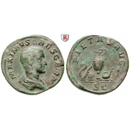 Römische Kaiserzeit, Maximus, Caesar, Sesterz 236-238, ss-vz