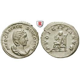 Römische Kaiserzeit, Otacilia Severa, Frau Philippus I., Antoninian 244-246, vz-st