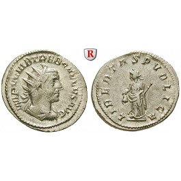 Römische Kaiserzeit, Trebonianus Gallus, Antoninian 251-253, ss-vz