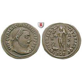Römische Kaiserzeit, Licinius I., Follis 316-317, vz+