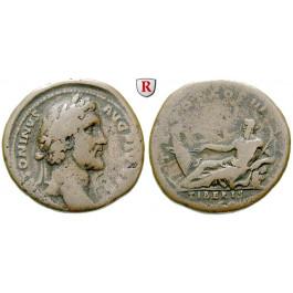 Römische Kaiserzeit, Antoninus Pius, As 140-144, f.ss