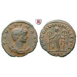 Römische Kaiserzeit, Severina, Frau des Aurelianus, Antoninian 274-275, ss+