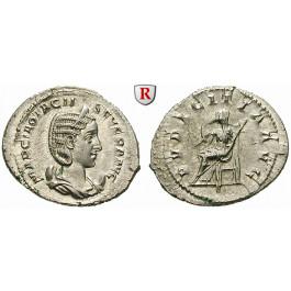 Römische Kaiserzeit, Otacilia Severa, Frau Philippus I., Antoninian 244-246, st