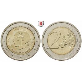 Belgien, Königreich, Albert II., 2 Euro 2012, bfr.
