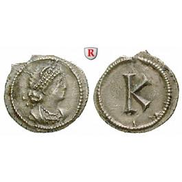 Römische Kaiserzeit, Constantinus I., Halbe Siliqua um 330, ss-vz/vz