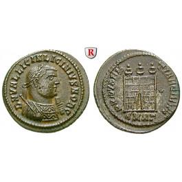 Römische Kaiserzeit, Licinius I., Follis 318-320, ss-vz