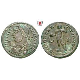 Römische Kaiserzeit, Licinius I., Follis 317-320, ss+