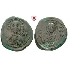 Byzanz, Romanus IV., Follis 1068-1071, f.ss