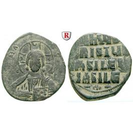 Byzanz, Constantinus VIII., Follis 976-1025, ss