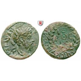Römische Provinzialprägungen, Kilikien, Anazarbos, Commodus, Assarion 183/184 (Jahr 202), ss