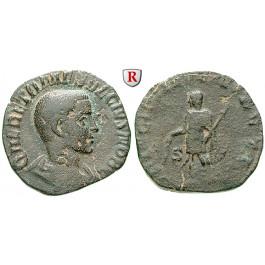 Römische Kaiserzeit, Herennius Etruscus, Caesar, As 250-251, ss