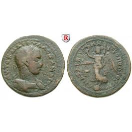 Römische Provinzialprägungen, Kilikien, Anazarbos, Severus Alexander, Tetrassarion 230/231 (Jahr 249), s-ss