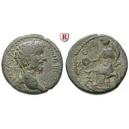 Römische Provinzialprägungen, Kilikien, Eirenopolis, Marcus Aurelius, Assarion 169/170 (Jahr 119), ss