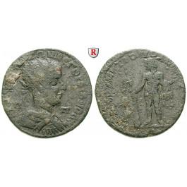 Römische Provinzialprägungen, Kilikien, Tarsos, Gordianus III., Bronze, f.ss